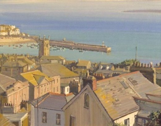 Cornish landscapes bernardevans for 22 the terrace st ives